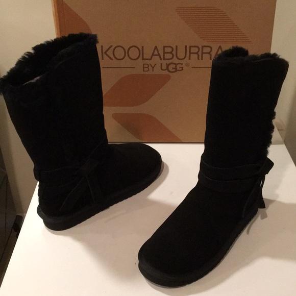 27e5b04fcd6 New Koolaburra by Ugg Rozalia tall Black boot 10❤️ NWT